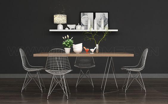 Nguyên tắc kết hợp bàn ghế ăn để có phòng ăn hoàn hảo