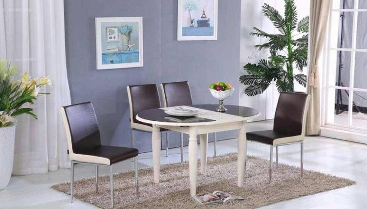 Bộ bàn ăn thông minh 4 ghế - lựa chọn tối ưu cho những gia đình nhỏ
