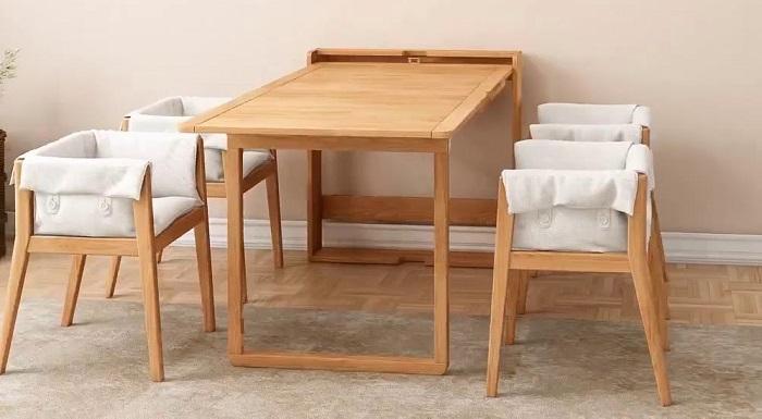 Điểm danh những bàn ăn thông minh cho nhà nhỏ