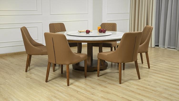 Những bộ bàn ăn thông minh 6 ghế đẹp ấn tượng