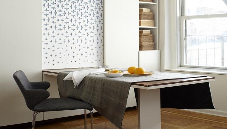 Tổng hợp những mẫu bàn ăn thông minh treo tường đẹp-6