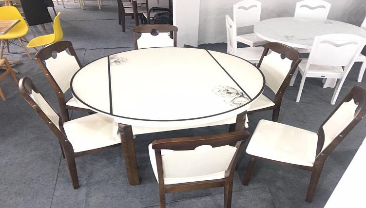 5 mẫu bàn ăn tròn xếp gọn thịnh hành nhất hiện nay-6