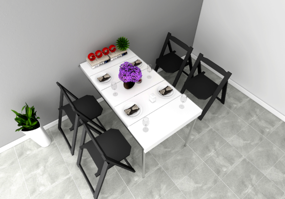 Những điều cần biết về bàn ăn thông minh treo tường