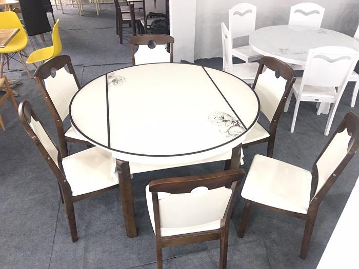 Top 4 bàn ăn tròn gấp gọn đẹp và tiện lợi-3