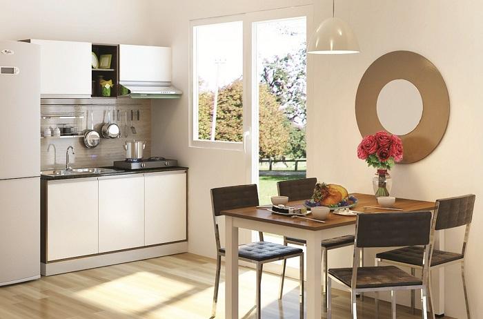 Lưu ý khi lựa chọn bộ bàn ăn cho phòng bếp nhỏ