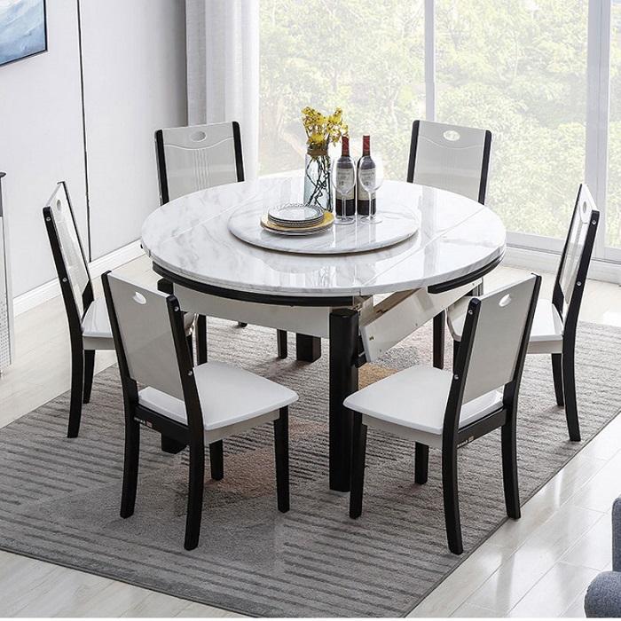 Kích thước bàn ăn tiêu chuẩn cho không gian phòng bếp