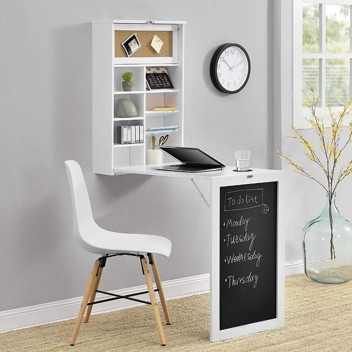 Tư vấn chọn mua bàn ăn thông minh gấp tường theo kiểu dáng
