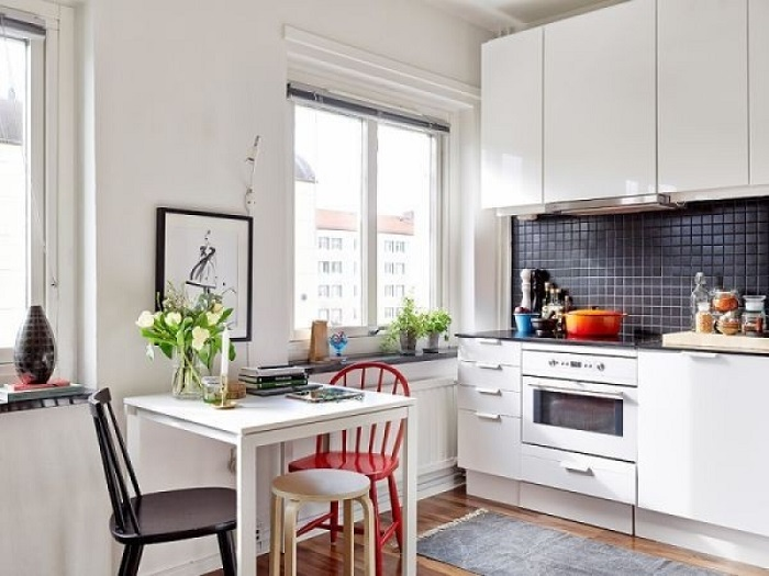Bố trí phòng bếp nhà ống sao cho phù hợp-4