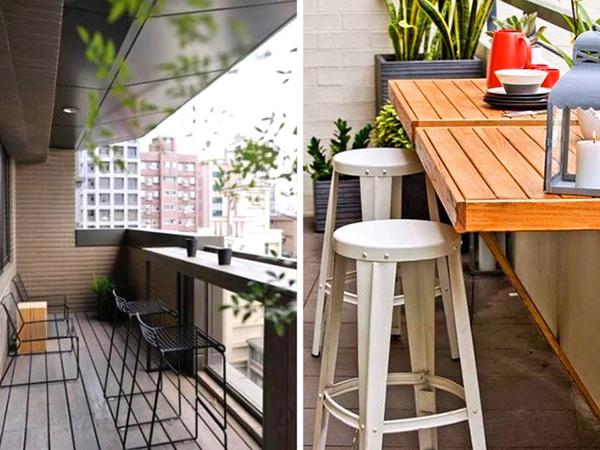 Cách bố trí bàn ăn trong bếp cho không gian chật hẹp-4