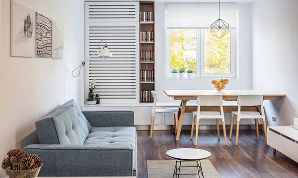 Cách bố trí bàn ăn trong bếp cho không gian chật hẹp-5