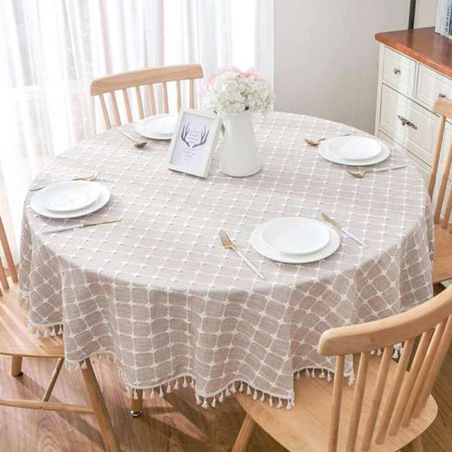 Mẫu khăn trải bàn sành điệu cho các chị em đam mê decor-10