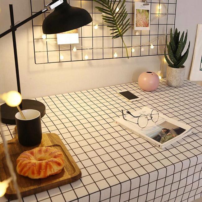Mẫu khăn trải bàn sành điệu cho các chị em đam mê decor-5