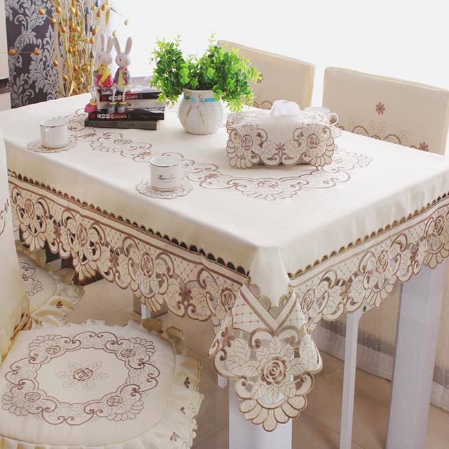 Mẫu khăn trải bàn sành điệu cho các chị em đam mê decor-7