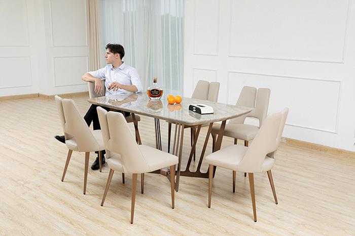 bàn ăn cho phòng bếp hiện đại