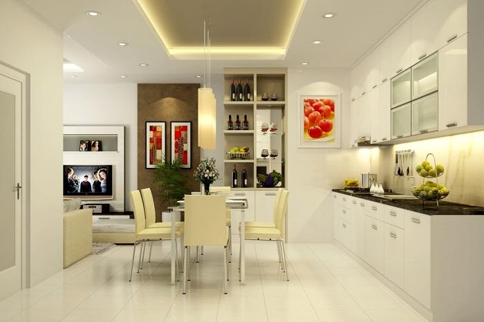 Cách trang trí nhà bếp đơn giản mà đẹp-3