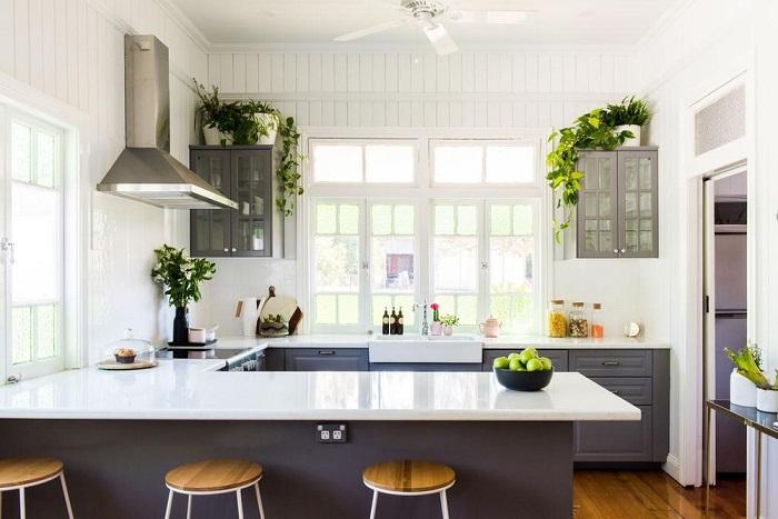 Cách trang trí nhà bếp đơn giản mà đẹp-4