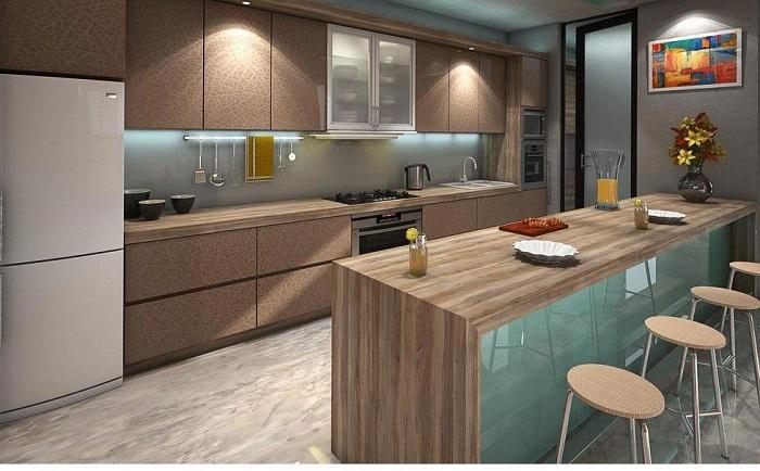 Chiêm ngưỡng những thiết kế nhà bếp đẹp hiện đại và trang nhã-2