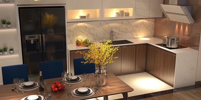 Chiêm ngưỡng những thiết kế nhà bếp đẹp hiện đại và trang nhã-6