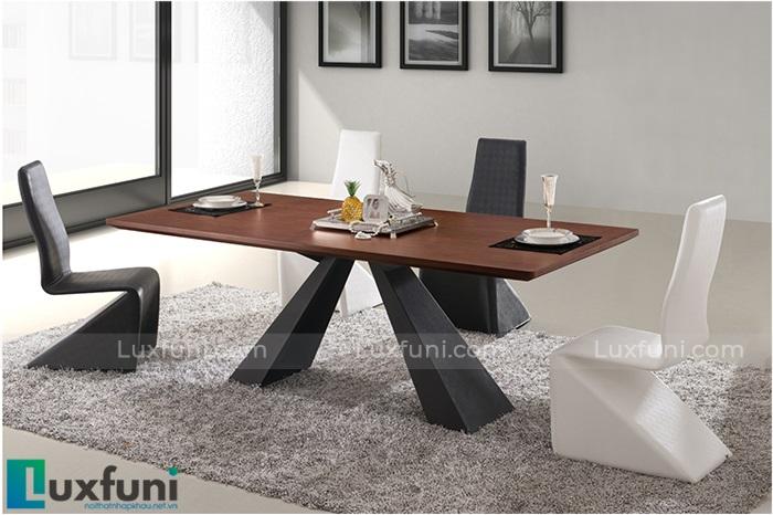 Những mẫu bàn ăn gỗ công nghiệp đẹp và chắc chắn-1