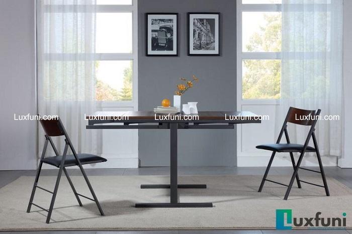 Những mẫu bàn ăn gỗ công nghiệp đẹp và chắc chắn-3