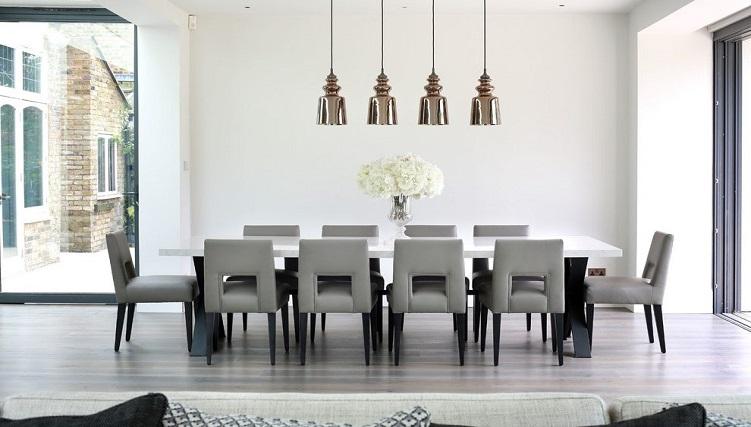 Tròn mắt với những mẫu bàn ăn đẹp 10 ghế-11