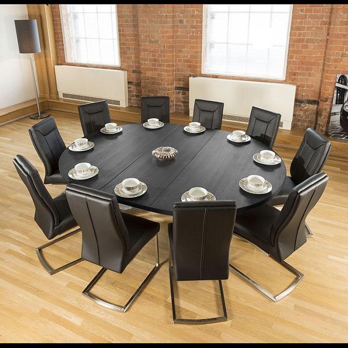 Tròn mắt với những mẫu bàn ăn đẹp 10 ghế-9