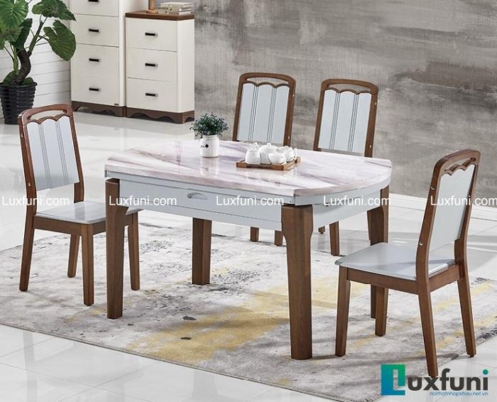 6 bộ bàn ăn 4 ghế mặt đá giá rẻ, chất lượng tốt-2
