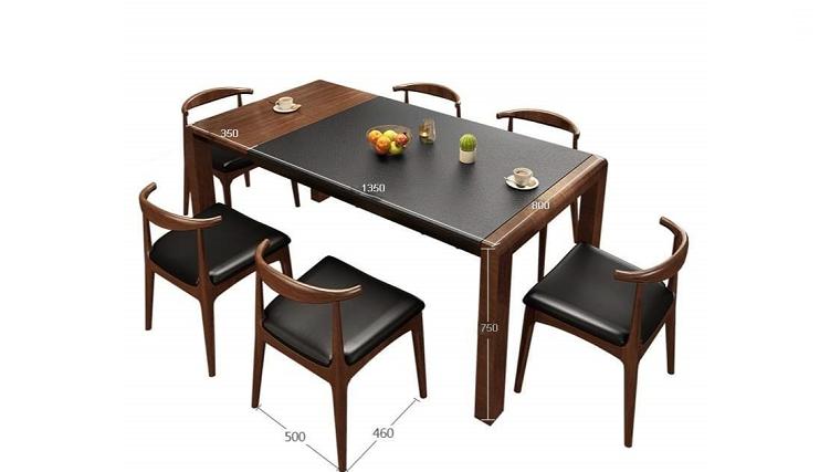 Những bộ bàn ăn 6 ghế hiện đại được nhiều người ưa chuộng-6