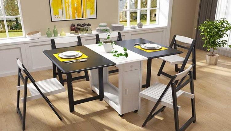Những mẫu bàn gập thông minh đắt khách nhất hiện nay