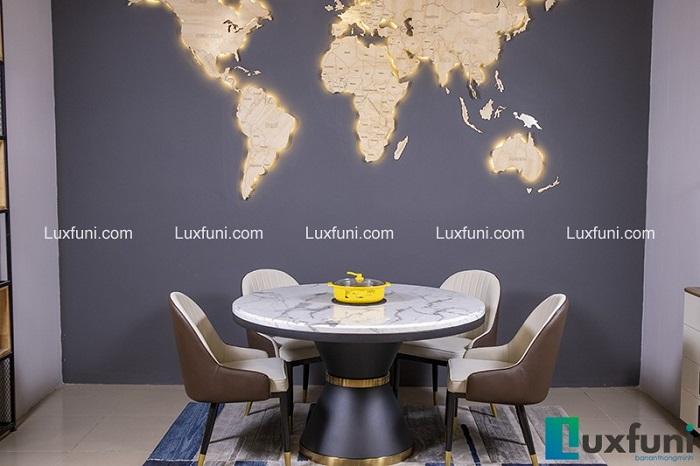 Top 6 bộ bàn ghế ăn hiện đại cho không gian sống thêm tiện lợi-6