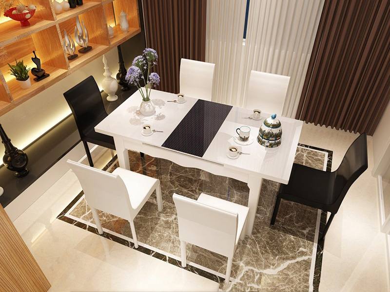Kinh nghiệm mua bộ bàn ăn 6 ghế chất lượng tốt, hợp túi tiền