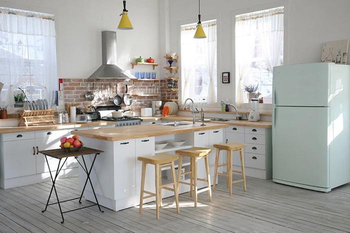 Nội thất thông minh thiết kế bếp nhỏ