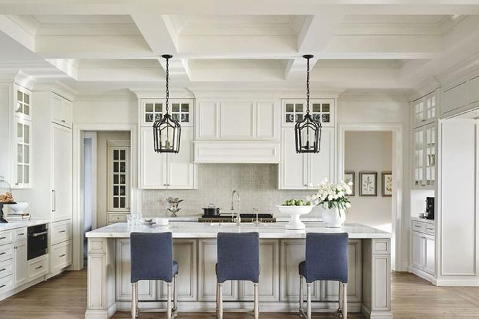 Thiết kế mẫu nhà bếp đẹp phong cách Địa Trung Hải