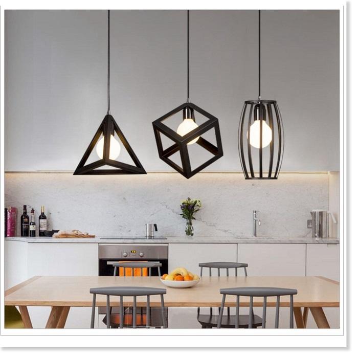 Trang trí nhà bếp bằng đèn treo