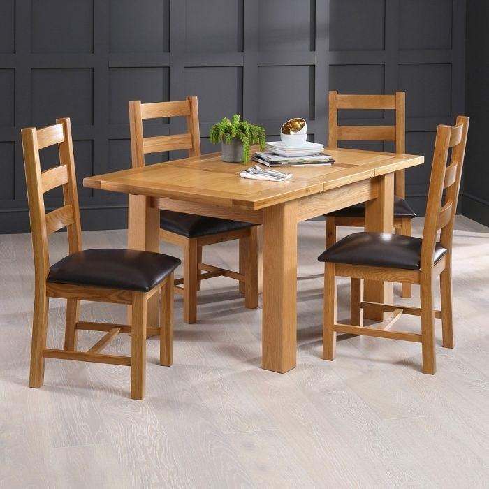 Bộ bàn ăn gỗ 4 ghế