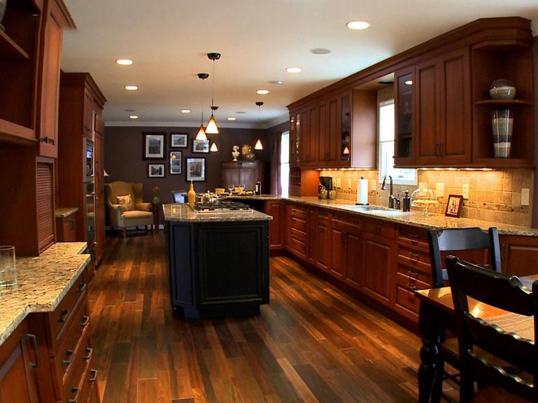 Đèn chiếu sáng nhà bếp