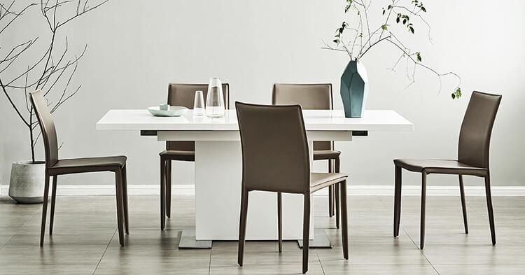 [Tổng hợp] những bộ bàn ghế ăn thông minh siêu chất cho nhà có diện tích nhỏ